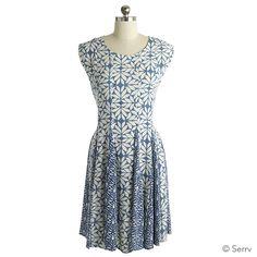 flared jenna dress