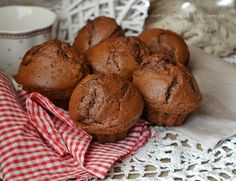 Muffin cacao e ricotta