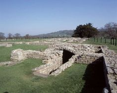 View of the strong room at Chesters Roman Fort