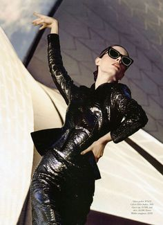 Coco Rocha 'She Wants to Move' - HARPERS BAZAAR AUSTRALIA - August 2013 By Todd Barry