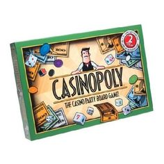 Casinopoly - Made as an add on for Monopoly, you can play this as a game on its own. I made up some cool rules and games to make this much more casino like, and upgraded the money with poker chips. It's an ok game if you want that gambling feel... just make up your own games.