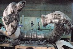 Alien Explorations: Alien: The Derelict during construction
