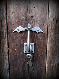 DRAGON DOOR KNOCKER Hand Forged and Signed by Blacksmith Naz