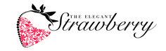 This is a brand new logo for The Elegant Strawberry. This company specializes in making chocolate covered strawberries and pretzels.