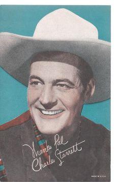 C1940 Charles Starret Cowboy Durango Kid