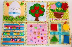 Развивающие игрушки ручной работы. Ярмарка Мастеров - ручная работа Развивающий набор карточки. Handmade.