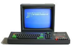 Amstrad CPC464 with CTM644 colour monitor