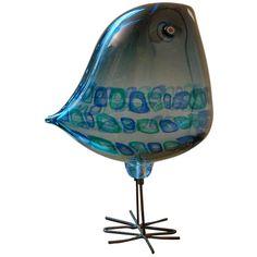 Murano Glass Pulcini Bird by Alessandro Pianon Sculptures For Sale, Animal Sculptures, Sculpture Art, Scandinavian Art, Beaded Animals, Venetian Glass, Glass Birds, Painted Paper, Decoration