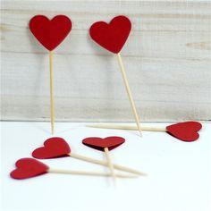 10 En Güzel Sevgililer Günü Partisi Süsleri | elitstil.com - kalp kürdanlar