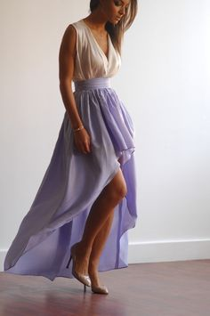 Nice example of a desktop product page High Low Skirt, Product Page, Diana, Lilac, Desktop, Elegant, Chic, Skirts, Beautiful