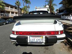 1985 Porsche 911 930 Cabrio