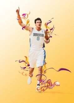Danilo Gallinari ... young Italian basketball player nba