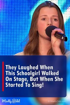 They Laughed When This Schoolgirl Walked On Stage But When She Started to Sing! Songs To Sing, Music Songs, Music Videos, Britain's Got Talent, Talent Show, Pop Music, Live Music, Michael Buble Songs, Show Video