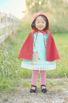 Little Red Riding Hood costume and party ideas