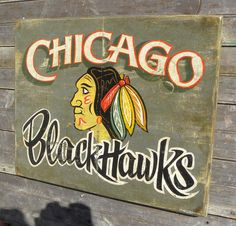 when i have a garage i'm so putting up chicago sports signs in it