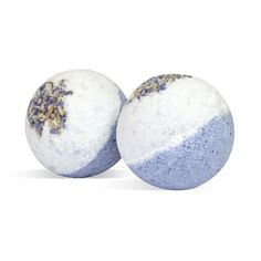DIY Luxury Lavender Foot Bath Bomb Recipe: These are the perfect-sized mini bath bomb for a foot soak. With soothing epsom salts and calming lavender.