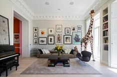 5 Decorating Mistakes That Make Your Home Look Cluttered * * * Before getting to this design lesson – I have Living Room Designs, Living Spaces, Tamizo Architects, Loft Industrial, Transitional Living Rooms, Decorating On A Budget, Home Look, Stores, Decoration
