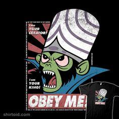 OBEY ME! #mephias #mojojojo #obeygiant #shepardfairey #thepowerpuffgirls #tvshow #williamchapman