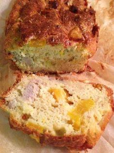 Cake au thon et au poivron