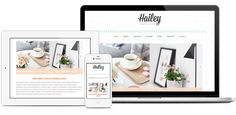 Hailey WordPress Theme - Responsive. For use on self-hosted WordPress.org sites.