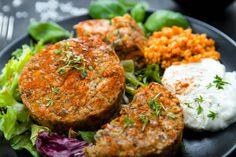 Gemüsebratlinge mit roten Linsen | Einfach schnell gesund vegan