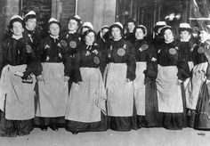 ~arrested suffragettes~   It still stumps me when some women today don't bother to vote, when in fact the women before us had struggled to make sure we not only had a voice, but to also make sure we had rights!