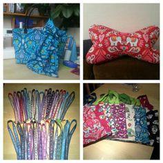 Tasche mit Loop Leseknochen Schlüsselbänder und Einkaufstaschen :-)