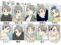 Haikyuu Meme, Haikyuu Fanart, Kageyama, Hinata, Haikyuu Characters, Anime Characters, Manga Anime, Anime Art, Miya Atsumu