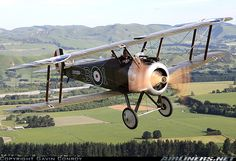 Sopwith Camel - great to see one in flight. We stock a lovely desk-top replica: http://www.aerosgifts.co.uk/replica-sopwith-camel-detail.html