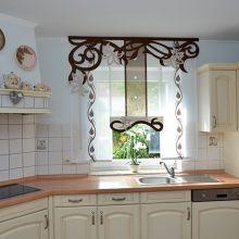 Küchengardinen bei Ihrem Gardinenspezialisten bestellen ✓ Wir nähen Küchengardinen nach Maß ✂ Modernes Gardinen Design ist unsere Stärke