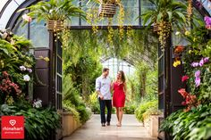 Longwood Gardens Engagement Photographer-6