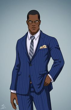 Augustus Freeman IV (Earth-27) commission by phil-cho on DeviantArt
