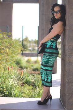 Midi Pencil Skirt .....love this look!!!