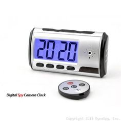 TimeGuard Portable Alarm Clock Spy Camera DVR with Motion Detection by Dyna. $99.99. The TimeGuard Portable Alarm Clock Spy Camera DVR Packs A Powerful Surveillance Punch In A Small Package  Incredibly lightweight and compact at only 4 inches wide by 2.5 inches tall, the TimeGuard Portable Alarm Clock Spy Camera DVR is the perfect portable solution when you're looking for a nanny cam, home security camera or any other type of short-term surveillance.  It records sharp HD full c...