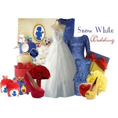 Snow White Wedding - Polyvore