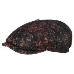 Casquette Hatteras Check Wool by Stetson - Bonnets   chapkas -  chapeaushop.fr Casquettes Chapeaux 9d13ed8e29c