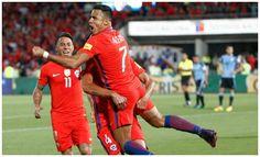 Alexis Sanchez Scores twice as Chile beat Uruguay 3 - 1
