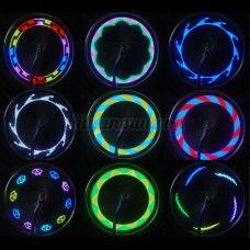 Pinnavalo polkupyörään, 14 LED-valoa