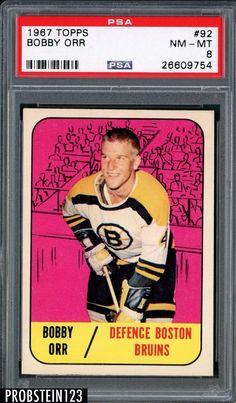 1967 - 1968 Topps Bobby Orr Boston Bruins Hockey Card for sale online