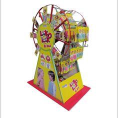 Look-O-Look Ferris Wheel Counter Display