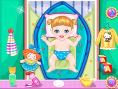 Its Cute Baby Alice bed time now, Cute Baby Alice want to listen to stories,today,mom tell a store about Little Red Riding Hood and baby alice scared when she was sleeping,Give baby alice a kiss and give some music to baby Hazel. Now kids can play for free Baby Alice Royal Bath game on android device. In this game, you get a chance to pamper our little princess Cute Baby Alice with a royal bath. Start the procedure with an oil massage. Then let our princess dip in chocolate bubbles and th...