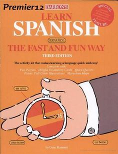 Learn Spanish. Barons spanish book.