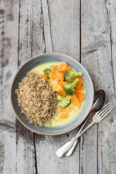 Quinoa aus Deutschland und veganes Blitz-Curry   Carrots for Claire
