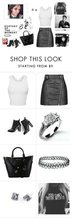 """""""Her lover"""" by honeysxd ❤ liked on Polyvore featuring Jonathan Simkhai, Topshop, SWEET MANGO, Hedi Slimane, Noémiah and GE"""
