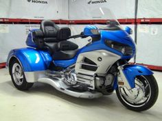 Blue 2012 Honda Goldwing GL1800 GL 1800 Motorcycle The used 2012