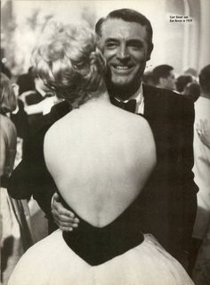 Cary Grant & Kim Novak dancing at the Cannes Film Festival 1959