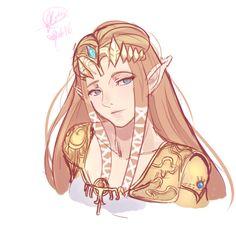 Princess Zelda by akxane