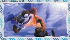 L'era glaciale - In rotta di collisione: Fronte Figurina n. 98 -