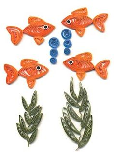 quilled fish quilling