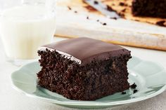 Everyone should be able to eat chocolate cake! A few simple substitutions is all it takes to make our classic recipe free of dairy, eggs, white sugar and vegetable oil, without sacrificing the intense chocolaty taste and moist, fluffy texture you've come to love. Most high-quality semisweet chocolates are dairy-free; read the label to ensure the brand you've selected doesn't contain any milk products. Cost: $1.35 per serving